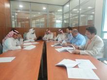 الاجتماع العشرون لفريق الخطة الاستراتيجية لجامعة الخرج