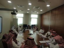 سلسلة اجتماعات للجنة التنفيذية للخطة الاستراتيجية بجامعة سلمان بن عبد العزيز